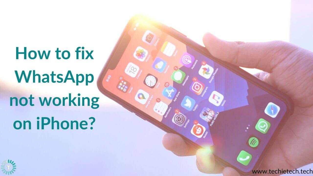 WhatsApp not working on iPhone Here are 20 ways to fix it ...